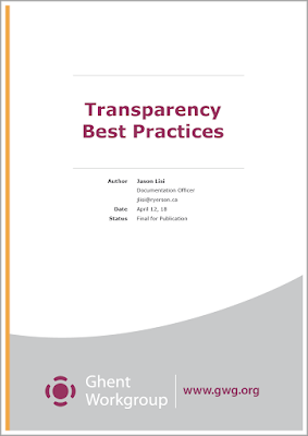 GWG Transparency White Paper