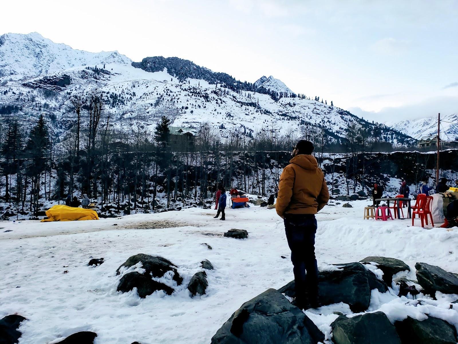 View from Nehru Kund