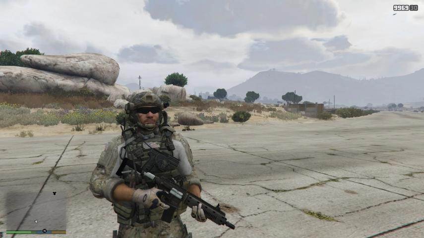 Call of Duty Modern Warfare 3 uniform