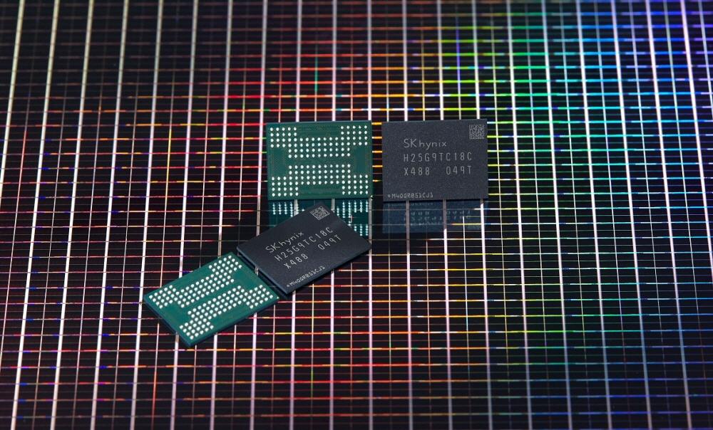 SK하이닉스, 176단 512Gb TLC 4D 낸드플래시 개발