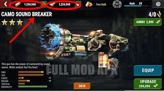 Dead Target 4.34.1.2 Hack (MOD Money & Gold)