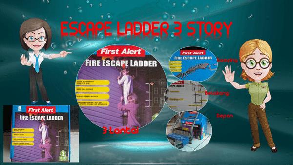 Escape Ladder Tangga Darurat 3 Lantai