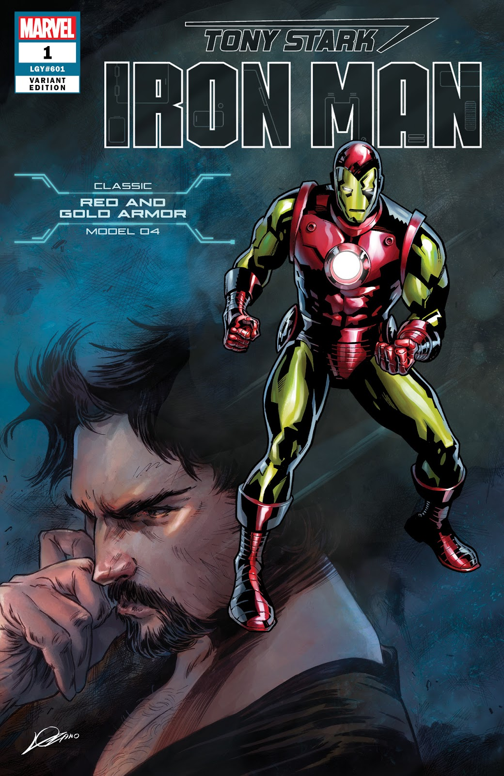 Tony Stark: Iron Man #1