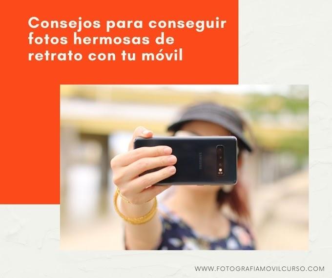 Fotografía de retrato con celular - CONSEJOS
