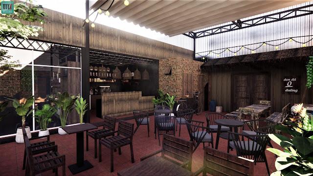 Trang trí quán cafe đẹp tại Thủ Dầu Một