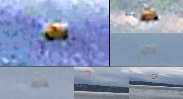 UFO News ~ Saucer-shaped UFO spotted over South Seattle, WA  plus MORE Disc%2Bshaped%2BUFO%2BSeattle%2BWA