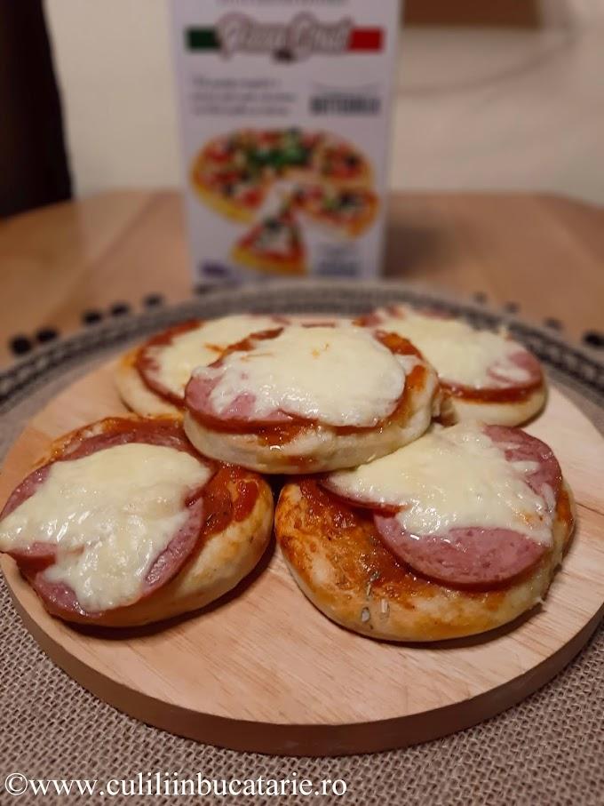 Minipizza rapidă