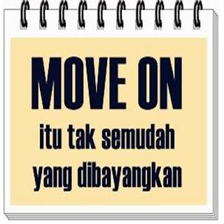 Gamabar dan kata-kata move on itu tidak mudah buat dp bbm