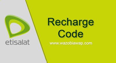 etisalat recharge code