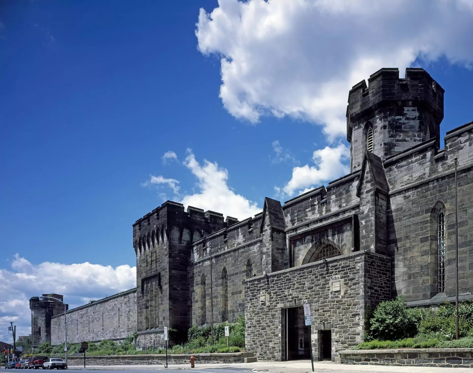 Haunted Eastern state penitentiary, US