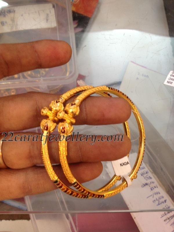 Baby Kankanalu Bangles Jewellery Designs