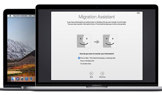 macOS Mojave Windows Migration