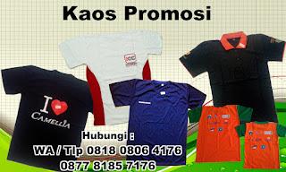 Kaos Promosi, Polo T-shirt Promosi, seragam