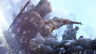 Battlefield 5 Firestorm PS Vita Wallpaper