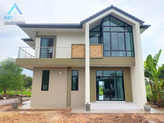 แบบบ้านสวยราคาเพียง 1.99 ล้านบาท