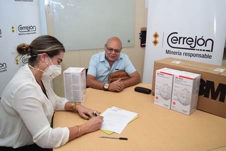 Cerrejón entregó siete mil mascarillas a hospitales de La Guajira