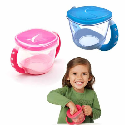 No-spill Snack Cup-Stocking Stuffer Ideas for Toddlers