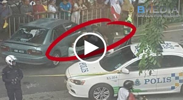 Johor ~ Awek Baru Jer Ambil Duit Dari Mesin ATM, Terus Kena Rompak Oleh 4 Banggala!! Tengok Inilah Balasan Yang Mereka Dapat!!