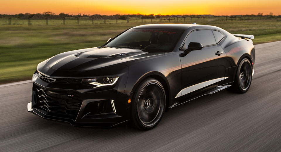 The Exorcist Is Hennessey S 1 000 Hp Zl1 Rival To The
