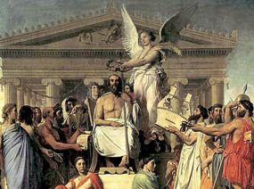 Familia del dios Zeus