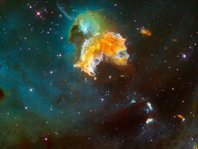 N 63A - Una Galaxia Maravillosa