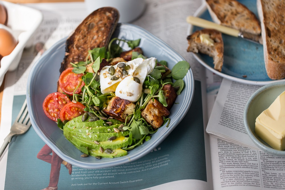 Halloumi And Watercress Brunch Salad (Vegetarian)