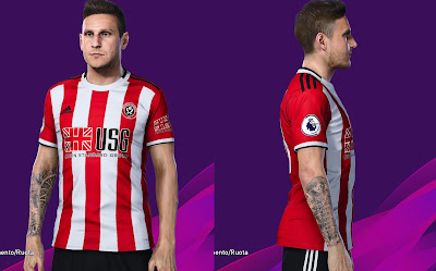 PES 2020 Faces Billy Sharp by SuperNova