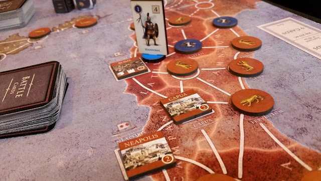 Hannibal board game review map