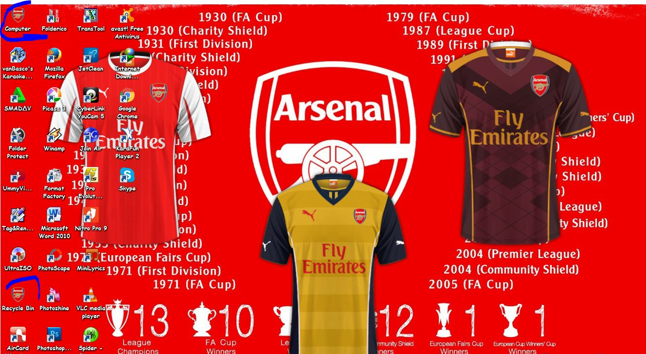 Kumpulan Arsenal Wallpaper Android Market: Download Tema Arsenal Terbaru 2016
