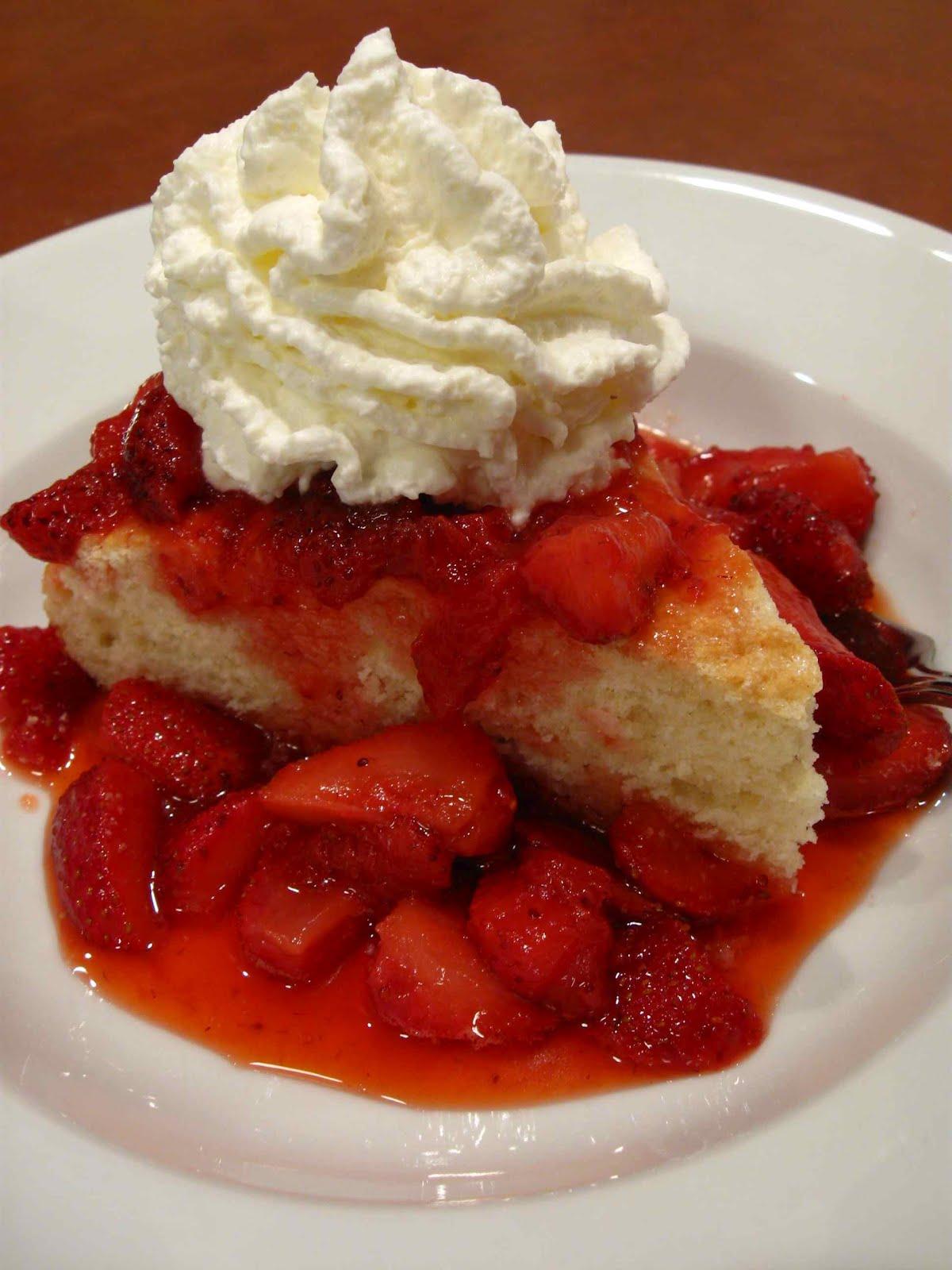 Whole Food Strawberry Cake Recipe