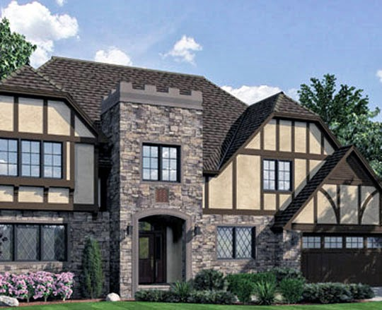 Architectural Design House Plans: Tudor Style - AyanaHouse