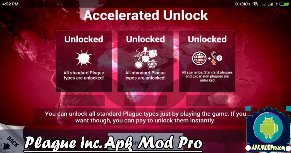 Download Plague Inc  MOD APK v1.16.3 (All Unlocked) Terbaru 2020