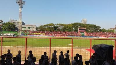BREAKING NEWS: Laga Final Piala Presiden PSM Makassar Vs Persija Jakarta Ditunda