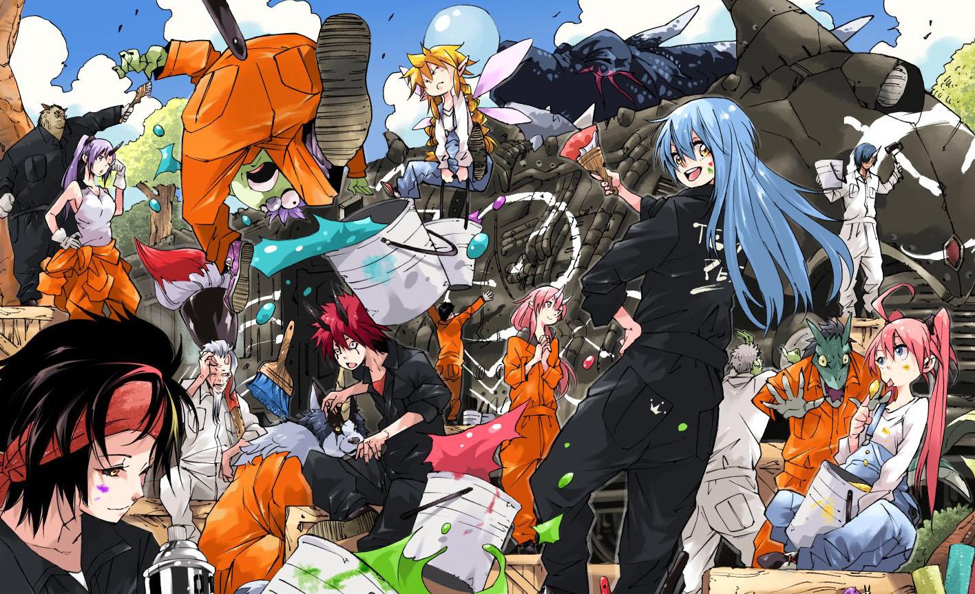 أنمي هذه المرة تجسدت على شكل سلايم الموسم الثاني : Tensei shitara Slime Datta Ken season 2