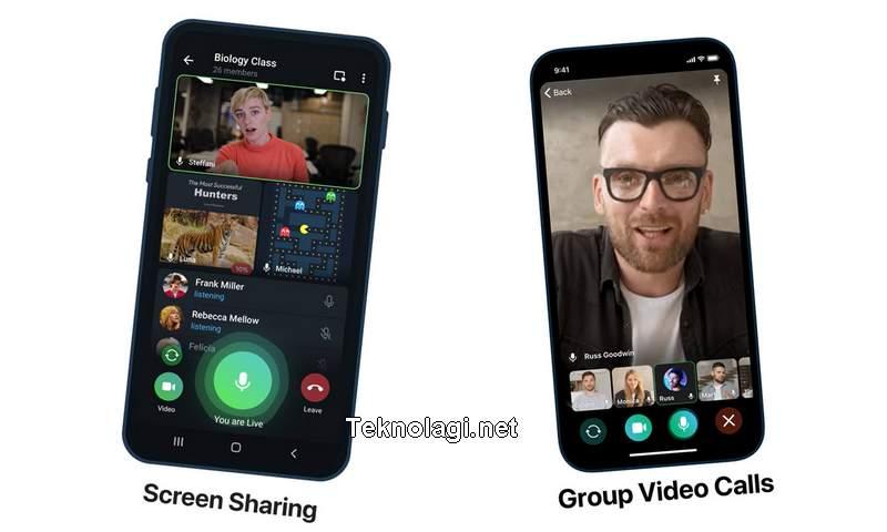 Video Call Grup Telegram (slashgear.com)