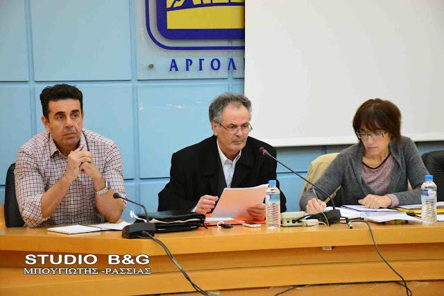 Συνεδριάζει το Δημοτικό Συμβούλιο στο Ναύπλιο
