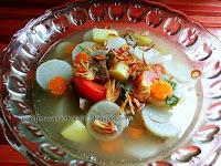 Resep Sayur Sup Lobak Bening Daging Sapi