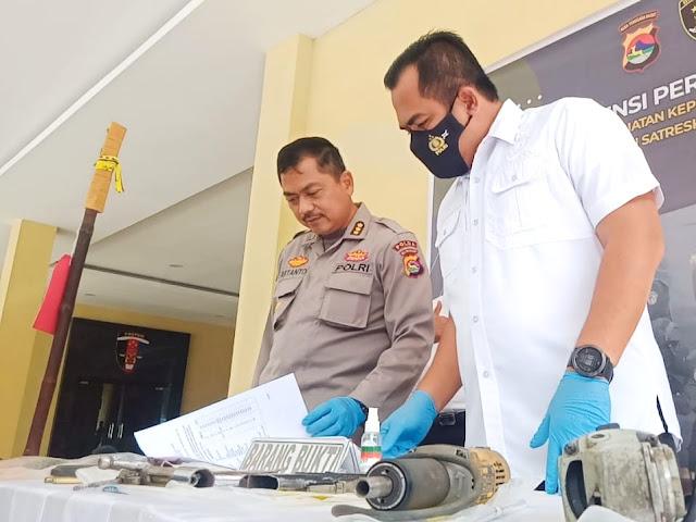 Dalam dua minggu, Polda NTB berhasil ringkus 367 pelaku kriminal