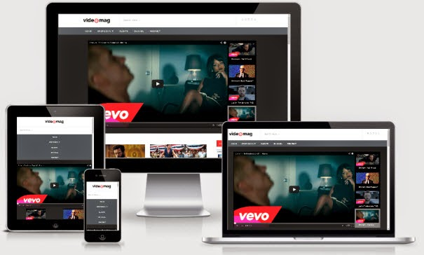 VideoMag Responsive Video Blogger Template Demo and Download Link. Features of VideoMag Responsive Video Blogger Template.
