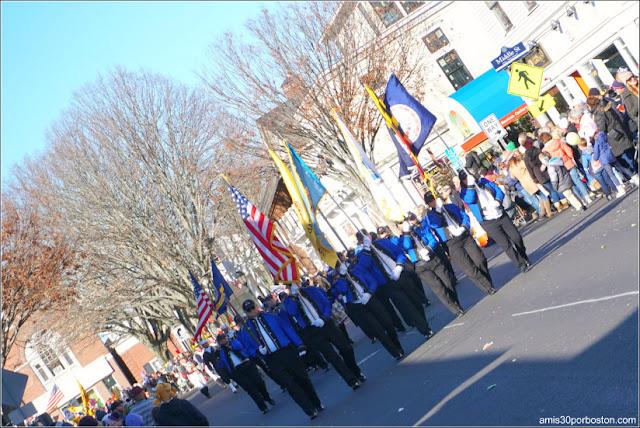 American Originals en el Desfile de Acción de Gracias de Plymouth