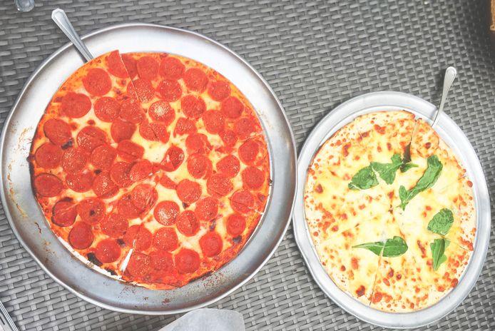 Pizza at Anvaya Cove