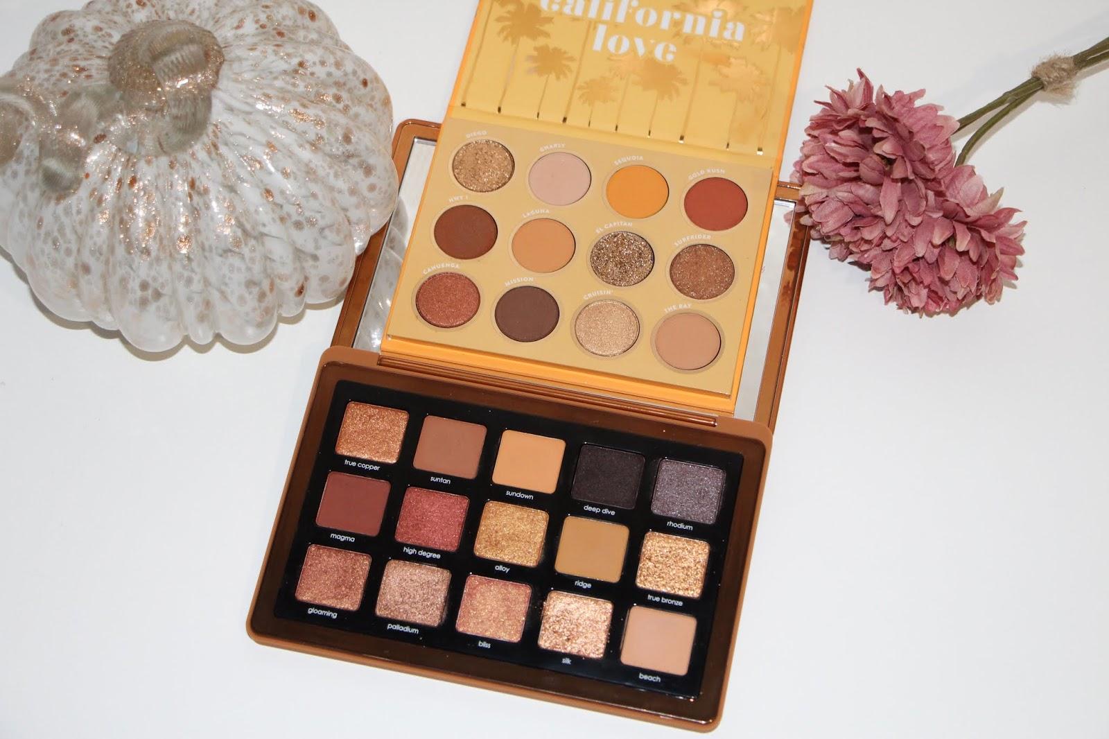 Natasha Denona Bronze Palette & Colourpop California Love Palette | Haul & Dupes