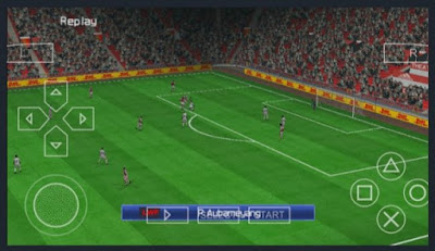 PES 2021 PPSSPP LITE 300MB PS4 Camera English Version