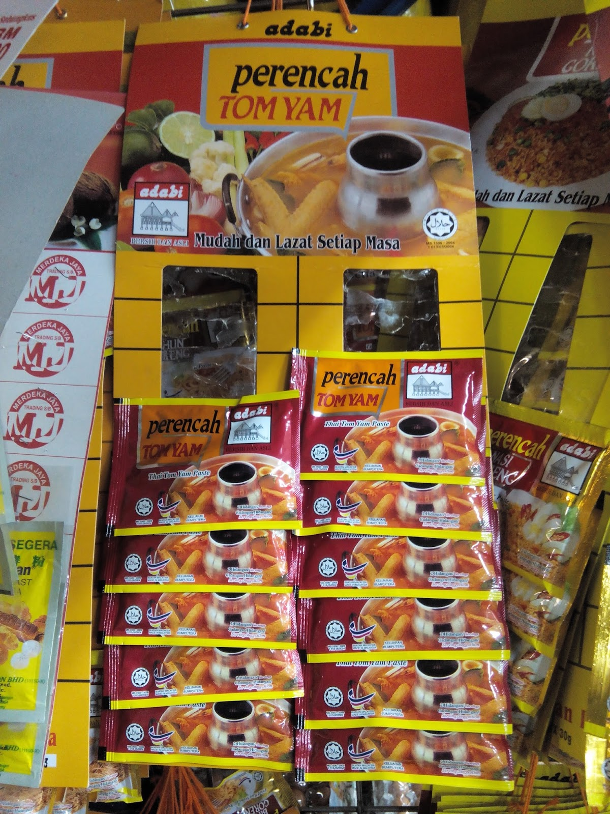 Produk Makanan - Perencah Bihun, Nasi Goreng Dan Tomyam Jenama Adabi - Pemborong Dan Pengedar