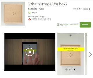 Soluzioni What's inside the box? di tutti i livelli