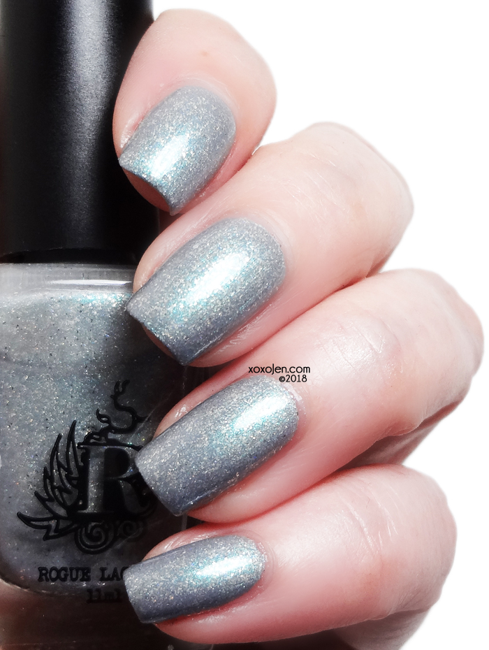 xoxoJen's swatch of Rogue Lacquer Blowing Off Steam