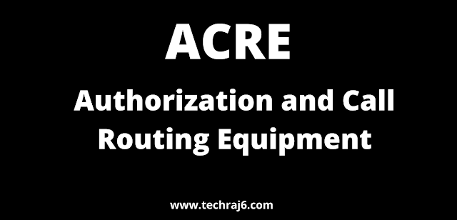 ACRE full form, What is the full form of ACRE