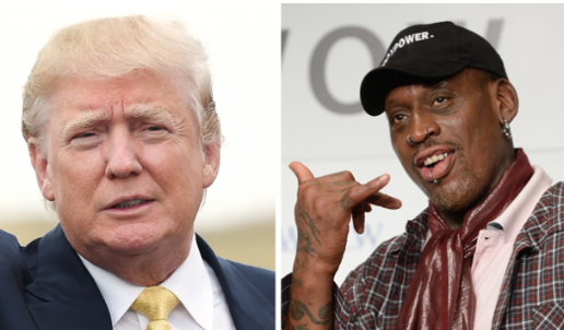 Dennis Rodman says White House called to thank him ahead of North Korea summit