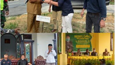 Didatangi Anggota DPRD Riau Sugianto Petani Dua Kampung  Setuju Laksanakan PSR