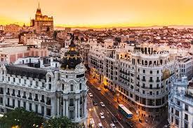 Capital of Spain madrid learning spanish